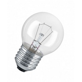 60D1/CL/E27 60W лампа накал. капля прозр. GE Brest