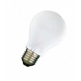 60A1/F/E27 60W лампа накал. груша мат. GE Brest