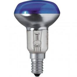 Лампа CONCENTRA R50 BLUE 35* 40W 230V E14
