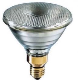 Лампа PAR38 FLOOD YELLOW 30* 80W 230V E27 (лампа-фара жёлтая d=122 l=136)