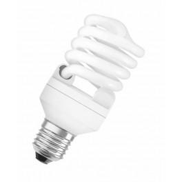 Лампа DULUX MINI TWIST 23W/827 220-240V 1500lm E27 спираль 8000h d54x132 OSRAM