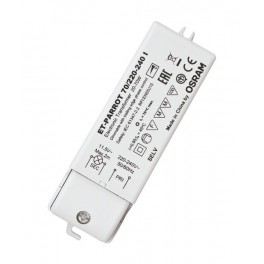 ET PARROT 70/220-240V I 20 - 70W 112x37x30 OSRAM трансформатор электронный