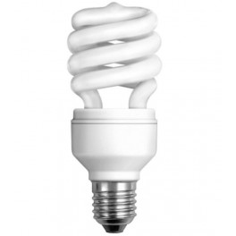 Лампа DULUX MINI TWIST 18W/840 220-240V 1200lm E27 спираль 8000h d54x123 OSRAM