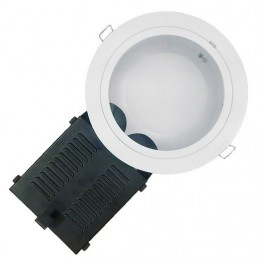 OSRAM DDL DE C RD MT WT 2x26 HF d235xd210x145 ЭПРА белый+стекло OSRAM