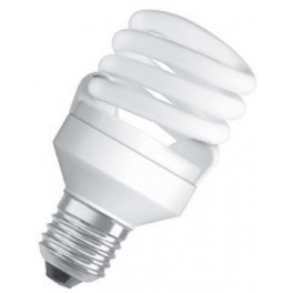 Лампа DULUX MICRO TWIST 11W/840 220-240V 620lm E27 спираль 10000h d42x90 OSRAM