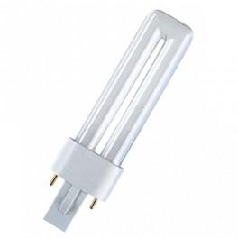Лампа DULUX S 5W/21-840 G23 (холодный белый)