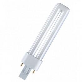 Лампа DULUX S 7W/21-840 G23 (холодный белый)