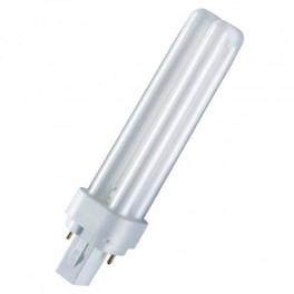 Лампа DULUX D 10W/21-840 G24d-1 (холодный белый 4000К)
