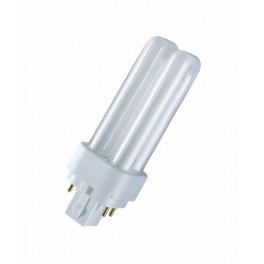 Лампа DULUX D/E 10W/41-827 G24q-1 (мягкий тёплый белый 2700К)