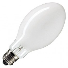 Лампа HQL 50W E27 d55x130 OSRAM * ДРЛ