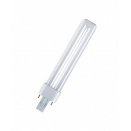 DULUX S  9W/67 G23 синяя лампа комп. люм. Osram