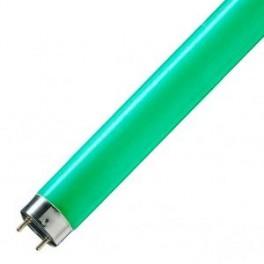 Лампа L18/66 G13 1800lm 530-550nm d26x590 зелёная OSRAM - цветная