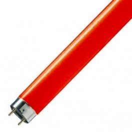 Лампа L58/60 G13 3800lm 610-630nm d26x1500 красная OSRAM - цветная