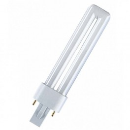 Лампа DULUX S 7W/31-830 G23 (тёплый белый)