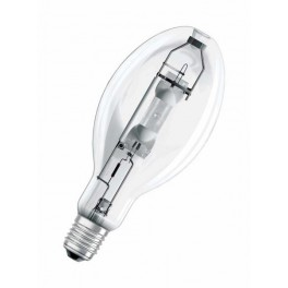 Лампа HQI E 400/N CL E40 4000К 42000lm 4,0А d120x290 прозрач верт±45 град. OSRAM
