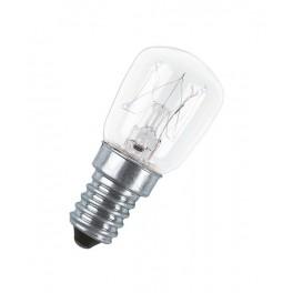 Лампа SPC.T26/57 CL 25W 230V E14 (холодильник прозрачная d=26 l=57)