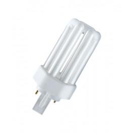 Лампа DULUX T 18W/31-830 PLUS GX24d-2 (тёплый белый)