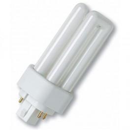 Лампа DULUX T/E 18W/41-827 PLUS GX24q-2