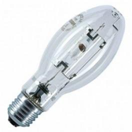 Лампа HQI E 100/WDL CL E27 8500lm d=55 l=141 прозрач ±360 град.