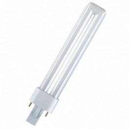 Лампа DULUX S 9W/11-865 G23 (дневной белый)