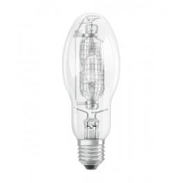 Лампа HQI E 70/WDL CL E27 5200lm d55x141 прозрач ±360 град. OSRAM