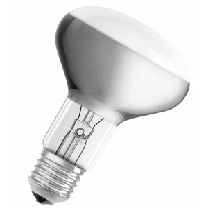Лампа CONCENTRA R80 SPOT 60W 230V 460cd 50 град. E27 зеркал d80x116