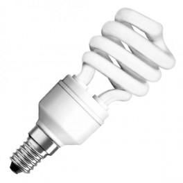 Лампа DST MINI TWIST 15W/827 220-240V 900lm E14 спираль 8000h d41x100 OSRAM