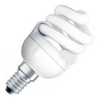 Лампы энергосберегающие КЛЛ DULUX INT LL / STAR / TWIST / GENIE (E14 встроен ПРА)