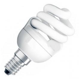Лампа DSST MICRO TWIST 15W/827 220-240V 970lm E14 спираль 8000h d48x103 OSRAM