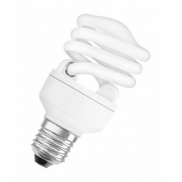 Лампа DSST MICRO TWIST 21W/827 220-240V 1400lm E27 спираль 12000h d57x108 OSRAM