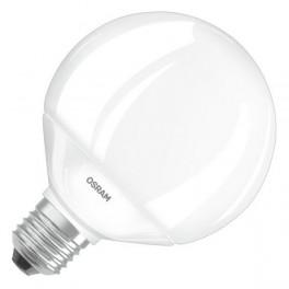 Лампа SCL G95 60 9W/827 (=60W) 220-240V 827 E27 806lm D95x126 15000h OSRAM LED