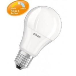 Лампа SSTCLA60 ACT&REL 1клик-827 / 2клик-840 E27 BLI1 LED OSRAM