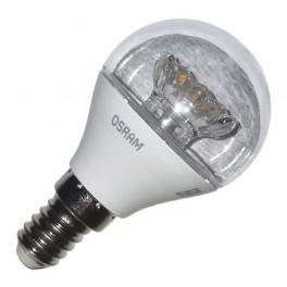 Лампа LS CLP 40 5.4W/830 (=40W) 220-240V CL E14 470lm 240* 15000h шарик OSRAM LED- см ...14989