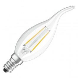 Лампа LED SCL BA40 4W/827 230V FIL E14 470lm FS1 OSRAM - свеча на ветру FILLED OSRAM