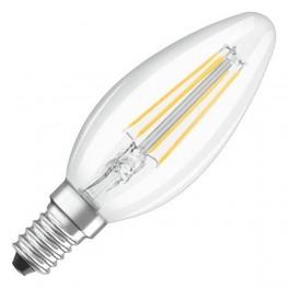 Лампа LED SCL B40 4W/827 230V CL FIL E14 470lm FS1 OSRAM - свеча FILLED OSRAM