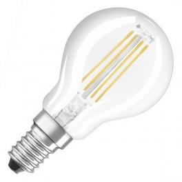 Лампа LED SCL P40 4W/827 230V CL FIL E14 470lm FS1 OSRAM - шарик FILLED OSRAM