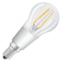 Лампа LED PCL P40D 4,5W/827 230V CL FIL E14 DIM 470lm FS1 OSRAM - шарик прозр FILLED OSRAM