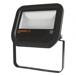 FLOODLIGHT LED 50W/4000K BLACK IP65 5 000Лм LEDV - LED прожектор OSRAM