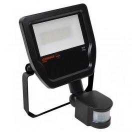 FLOODLIGHT LED SENSOR 20W/3000K BLACK IP65 5 000Лм LEDV - LED прожектор с сенсором OSRAM