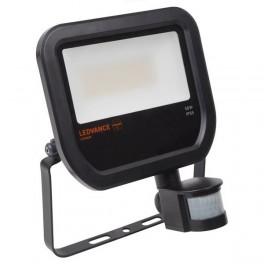 FLOODLIGHT LED SENSOR 50W/4000K BLACK IP65 5 000Лм LEDV - LED прожектор с сенсором OSRAM