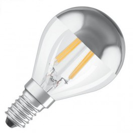 Лампа LED PCL P34 MIRROR 4W/827 230V FIL E14 NO DIM OSRAM