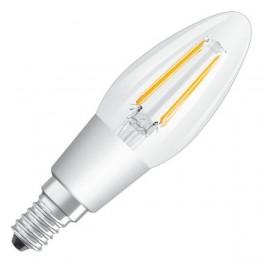 Лампа LED PCL B40D 4,5W/827 230V CL FIL E14 DIM 470lm FS1 OSRAM - свеча прозр FILLED OSRAM