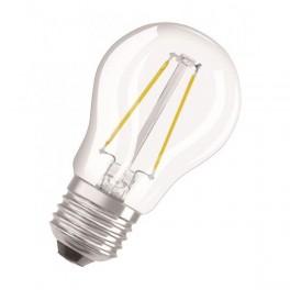 Лампа LED PCL P40D 4,5W/827 230V CL FIL E27 DIM 470lm FS1 OSRAM - шарик прозр FILLED OSRAM