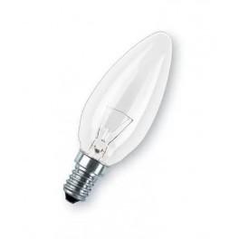 Лампа STANDART B35 CL 60W 230V E14 d 35 x 100 PHILIPS