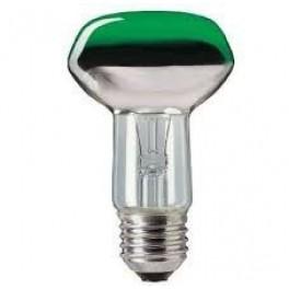Лампа NR63 GR 40W E27 230V (зеленый) (PH)