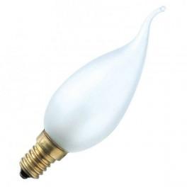 Лампа Deco FR 40W E14 230V BXS35 (свеча на ветру-матовая.) PHILIPS