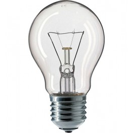 Лампа STANDARD A55 CL 60W 230V E27 d 55 x 98 PHILIPS