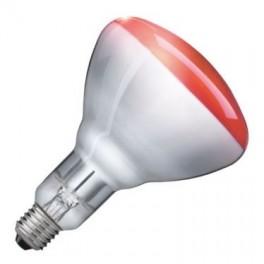 Лампа PHILIPS IR150RH BR125 E27 230-250V d125x181 красная