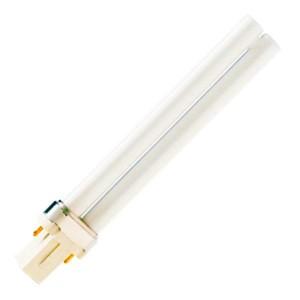 Лампа PL-S 9W/10/2P Actinic BL 350 - 400нм G23 6X10BOX - ловушки, полимеризация