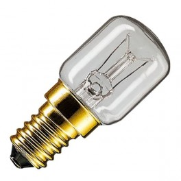 Лампа App 25W E14 230-240V T25 CL OVEN 300 град. d25x57 PHILIPS